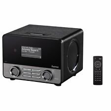 Hama IR110 Wireless Lan Internet-Radio schwarz WLAN USB Spotify