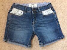 Girls Fat Face Denim Shorts Age 6-7 Years