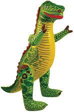 Aufblasbarer Dinosaurier NEU - Partyartikel Dekoration Karneval Fasching
