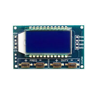 3.3V-30V Signal Generator PWM Pulse Frequency Duty Cycle Adjustable Module LCD