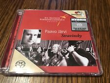 Paavo Jarvi, Stravinsky - Suite from Historie Du Soldat [SACD] Hybrid SACD