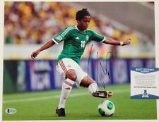 Giovani Dos Santos signed 11x14 Photo Autograph Mexico (A) ~ Beckett BAS COA