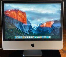 """Apple iMac 24"""" Desktop - MA878LL/A (August, 2007) 2.4GHz, 4GB RAM, 750GB HD"""