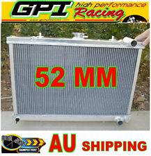 52mm radiator fit Nissan Skyline GTR/GTS-4/GTS-T R32 BNR32/HCR32/ECR32 RB26/RB20