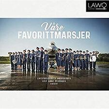 Royal Norwegian Air Force Band Leif Arne Pedersen - Vare Favorittmarsje (NEW CD)