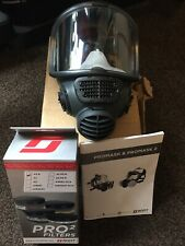 Scott Promask2 +10x P3R Filters Panoramic Size M/L Bio Protect Respirator Safety
