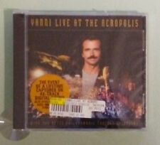 YANNI LIVE AT THE ACROPOLIS   CD NEW  heavy back cover cracking