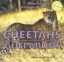 Cheetahs/Guepardos (Safari Animals / Animales De Safari)-ExLibrary