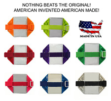 Reflective Arm Band Badge Holder, Made In USA, Many Colors Available, 5 Pack