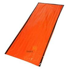Outdoor Emergency Tent Blanket Sleeping Bag Survival Reflective Shelter Mat