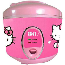 Hello Kitty Rice Cooker 1.5 Quart 8 Cups APP-43209 / Used / everything included