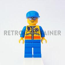 LEGO Minifigures - 1x cty089 - Coast Guard Patroller - City Omino Minifig 7739
