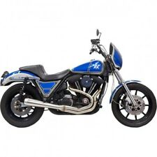 Exhaust road rage 3 stainless system 2 into 1 muffler - Bassani xhaust 1FXRSS