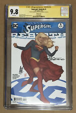 Supergirl Rebirth #1 CGC 9.8 Adam Hughes Variant Cover Signed Hughes & Orlando
