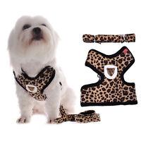 Small Pet Harness Leash Strap Mesh Dog Cat Adjustable Vest Puppy Collar Lead