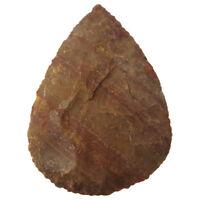 Schlichter feiner Faustkeil 9-10cm biface bifaz Steinzeit Nachbau
