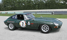 1962 Jaguar XKE Coupe Vintage Classic Race Car Photo (CA-0512)