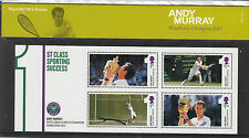 GB Presentation Pack M21 2013 Andy Murray Wimbledon