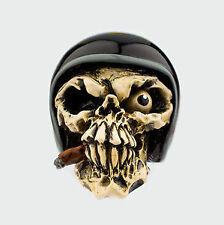 VAN CHASE MCPHAIL SHIFT KNOB GEAR ROCKABILLY ORNAMENT SMOKING SKULL HOT ROD