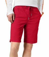 Superdry Mens Sunscorched Casual Walking Shorts, Red, 34