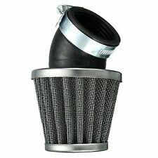 40mm 45 Degree Air Filter Black For 50cc 110cc 125cc 140cc Pit Dirt Bike Motor B