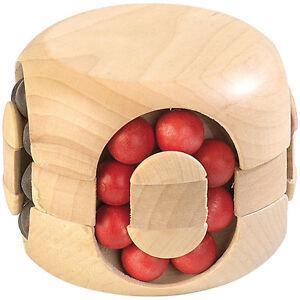 Holzrätsel: Geduldspiel aus Holz - Magic Beads (Geduldsspiele)