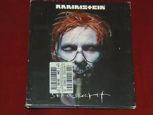 Rammstein - Sehnsucht -  CD 1997 Limited Edition Digipack Kreuzformat