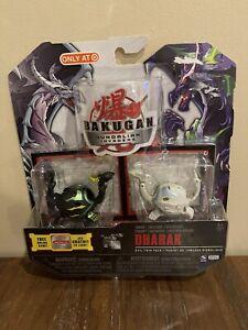 Bakugan Gundalian Invaders Evil Twin Pack Dharak Target Exclusive VHTF New!