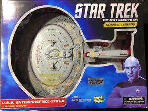 Diamond Select USS Enterprise NCC-1701-D Electronic Starship All Good Things NIB