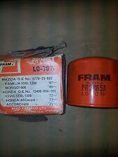 OIL FILTER HONDA ACCORD CIVIC MAZDA= FRAM 2865 / UNIPART GFE205