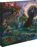 Zac Kinkade Garden of Eden 14 x 14 Gallery Wrapped Canvas