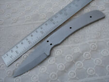 "6.75"" custom made small spring steel special design hunting knife blank blade S"