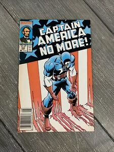 CAPTAIN AMERICA #332 - Marvel Comics 1987 - CAPTAIN AMERICA NO MORE VF- 7.5