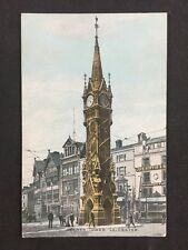 Vintage RP Postcard: Leics: #T1: Clock Tower, Leicester