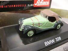 1/43 Schuco 02423 BMW 328 Cabrio Softtop grün