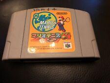 N64 Mario Tennis Cartridge Only Japanese NTSC J