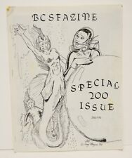 Vintage BCFazine Science Fiction Fantasy Fanzine Special 200 Issue 1990