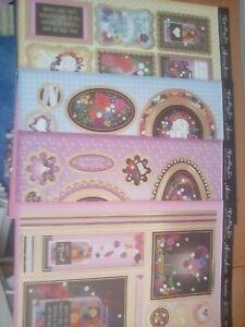 Hunkydory Sparkling Noir card making kit