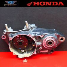 1986 Honda CR250 OEM Left Side Crankcase Bottom End Crank Case Cases Half