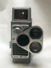 Vintage BELL & HOWELL 16MM MOVIE CAMERA W/3 INTERCHANGEABLE LENSES & ELECTRIC EY