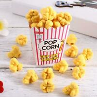 1 pack Hot Sale Popcorn Cute Rubber Eraser Creative School Supplies Stationery