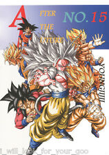 Doujinshi Dragon Ball AF DBAF After the Future vol.15 (Young jijii) 76 pages NEW