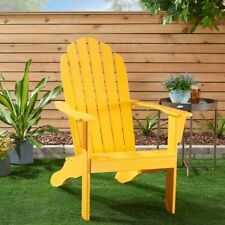 Mainstays Outdoor Wood Adirondack Chair, Multiple Colors