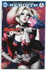 HARLEY QUINN #1 LEGACY EDITION STANLEY ARTGERM LAU COLOR COVER DC COMICS 2016