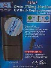 Acuario Mini UV Esterilizador Bombilla de repuesto Verde máquina de matar frf-if2uvsb