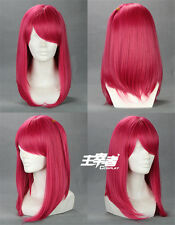 Magi The Labyrinth of Magic Morgiana Pink Cosplay wig Party wig + Free wig net