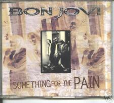 bon jovi - something for the pain + live tracks maxi cd
