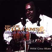 Big Joe Williams & Blind Willie McTell - Wild Cow Blues CD- OOP- VG Condition