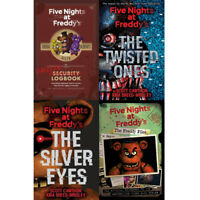 Five Nights at Freddy's Collection 4 Books Set The Silver Eyes Twisted Ones NEW