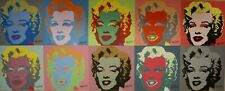 Complete set Andy Warhol Marilyn Monroe Lithograph's Limited 2400 pcs.